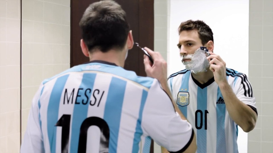 Gillette - Messi vs Federer