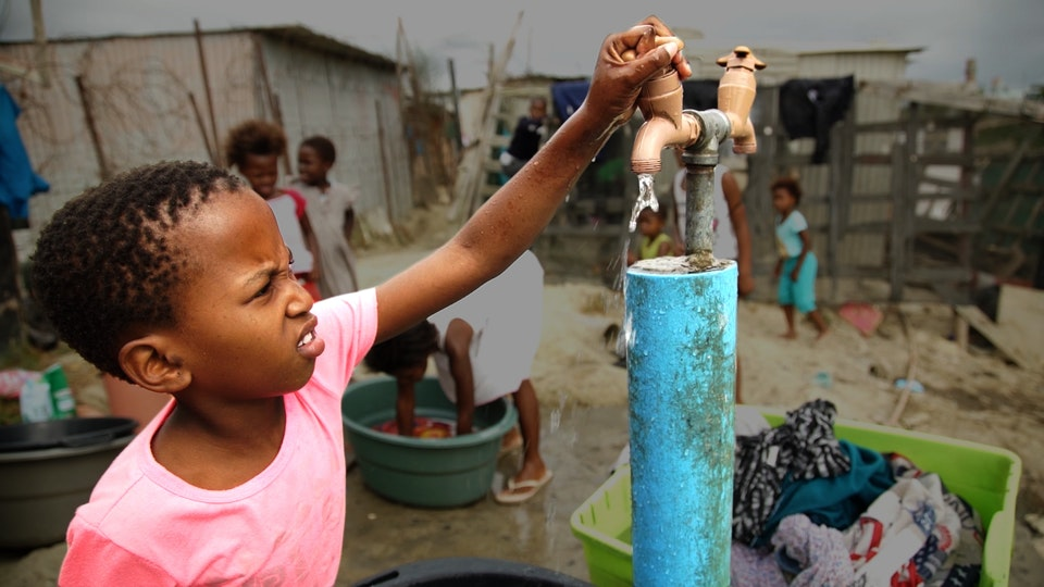 Cape Town - Life without water