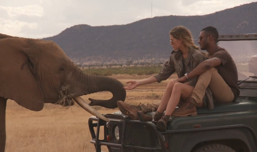 Super Model, Glamour Mag & Save the Elephants