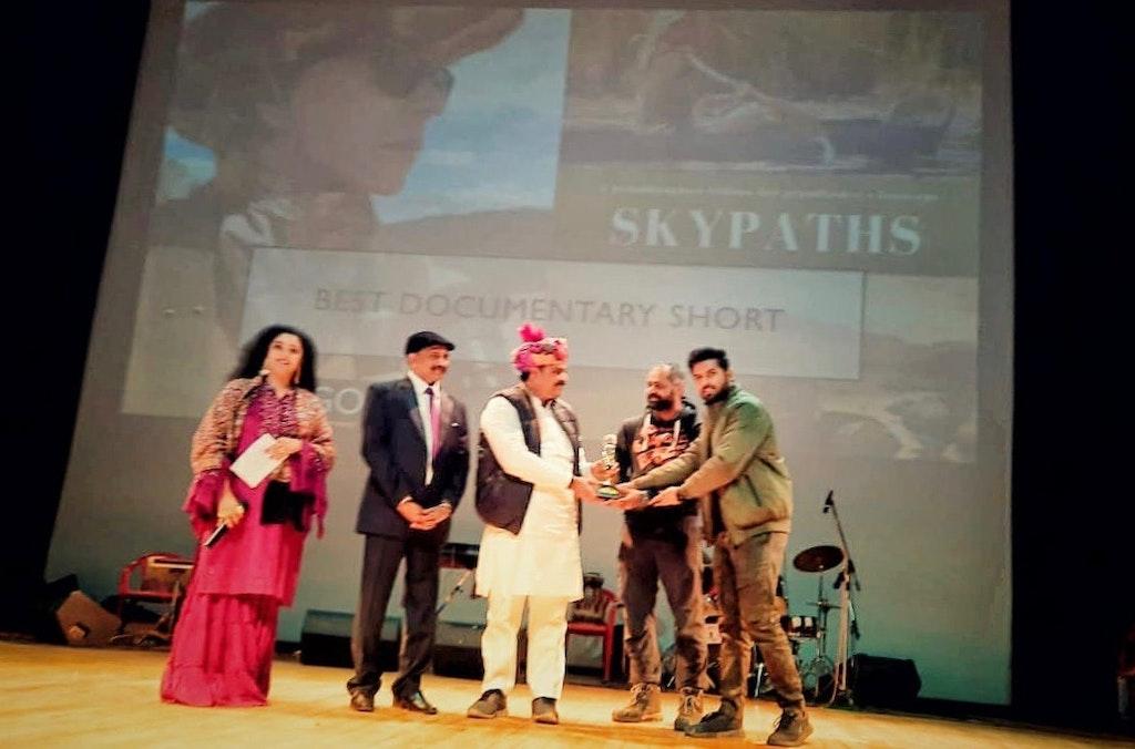 Best Documentary Short for Skypaths