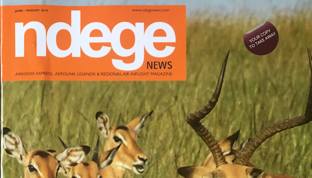 Ndege on Flight Magazine Profile Kire Godal - Skypaths
