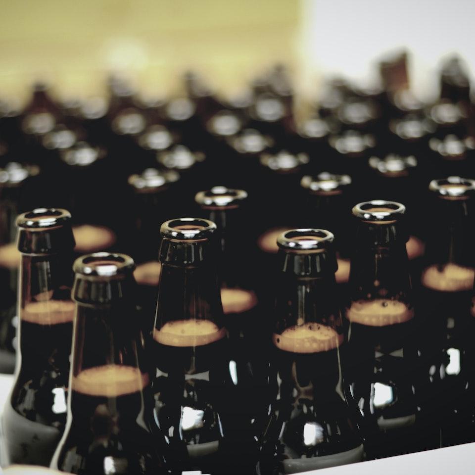 Black Hole Cold Brew bottle texture