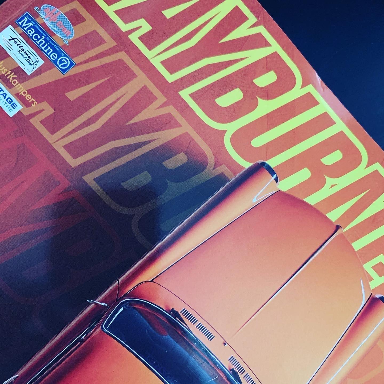 Hayburner Issue 33 cover in colour -Orange tones