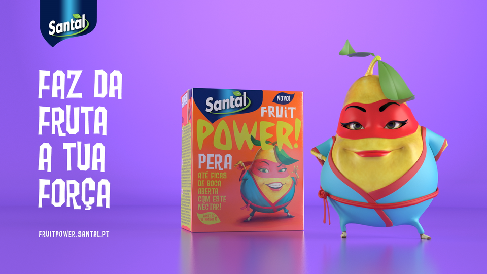 Santal Fruit Power Pera - Santal Fruit Power - Pêra 5