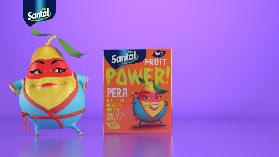 Santal Fruit Power Pera Santal Fruit Power - Pêra 2