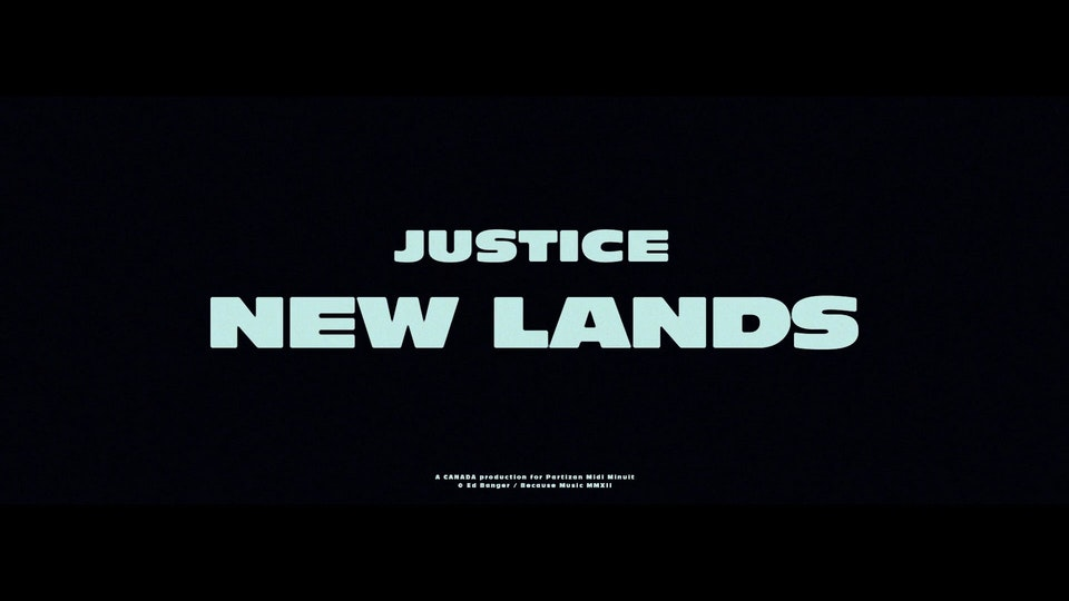 Justice - New Lands - Justice - New Lands