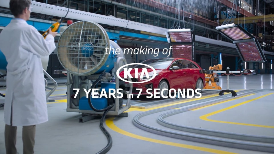 KIA - '7 Years in 7 Seconds' (Including VFX making-of) - KIA - '7 Years in 7 Seconds' - Making Of