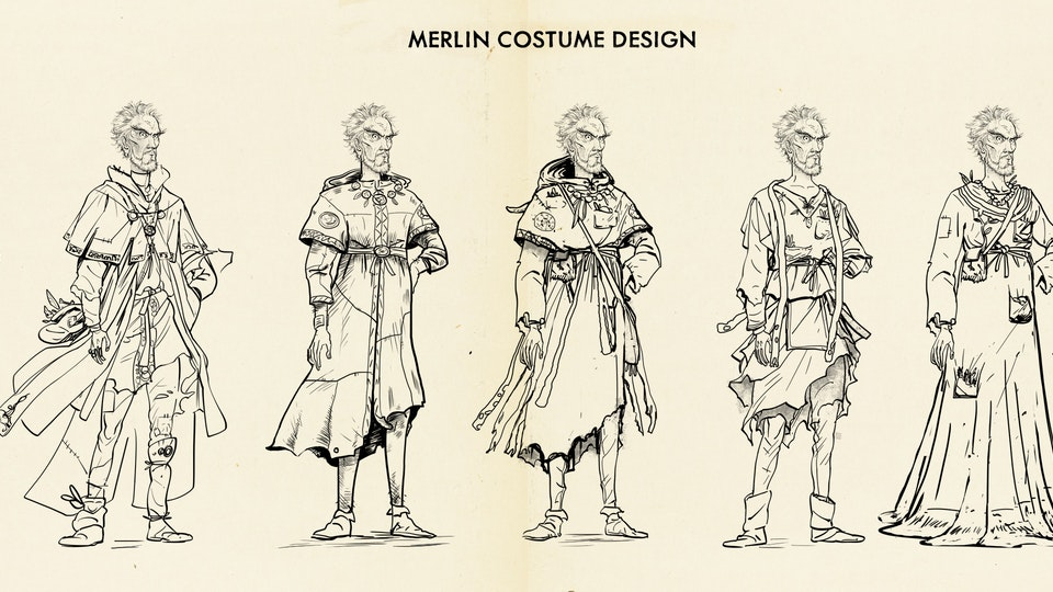 The Kid Who Would Be King (Prologue) Costume Design - Merlin