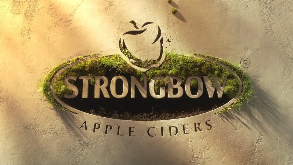 Glassworks - Strongbow - 'Gold' & 'Red Berries'