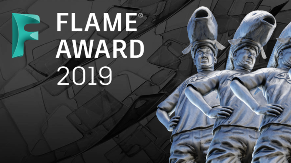 Glassworks - Duncan Malcolm Wins 2019 Flame Award