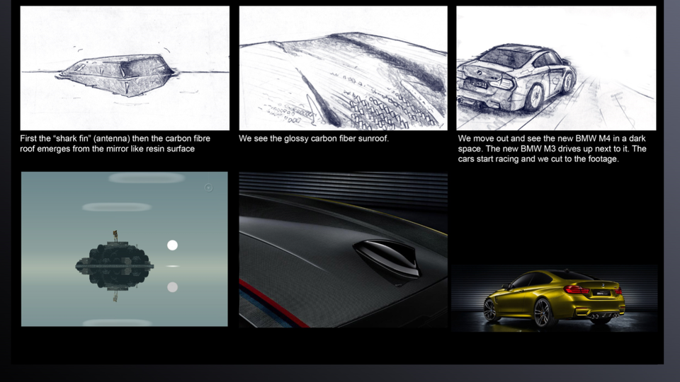 BMW - 'Perfect Composition' Storyboard (Pg. 6)