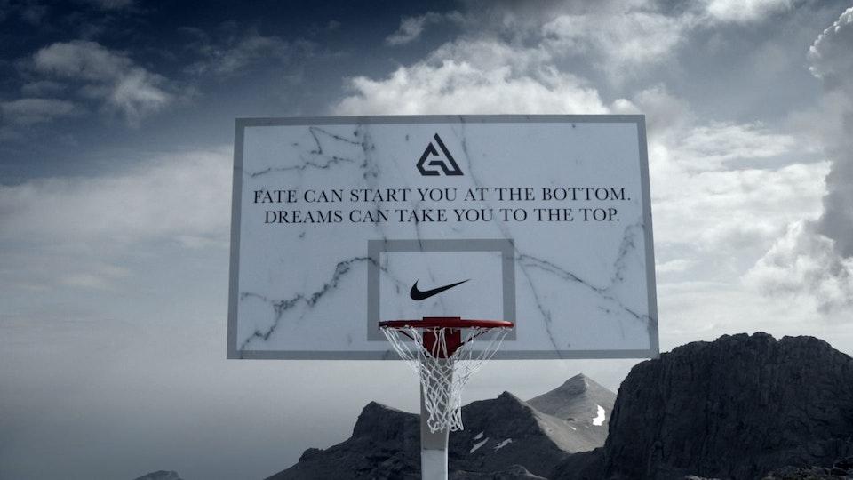 Glassworks - Nike - Giannis Antetokounmpo: Mt. Olympus