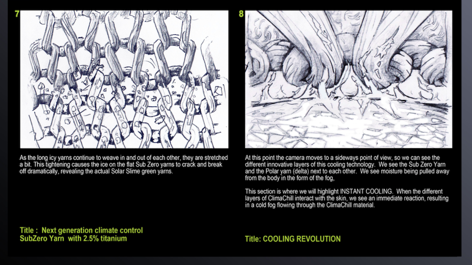 Adidas - 'Climachill - A Cooling Revolution' Treatment (Pg. 4)