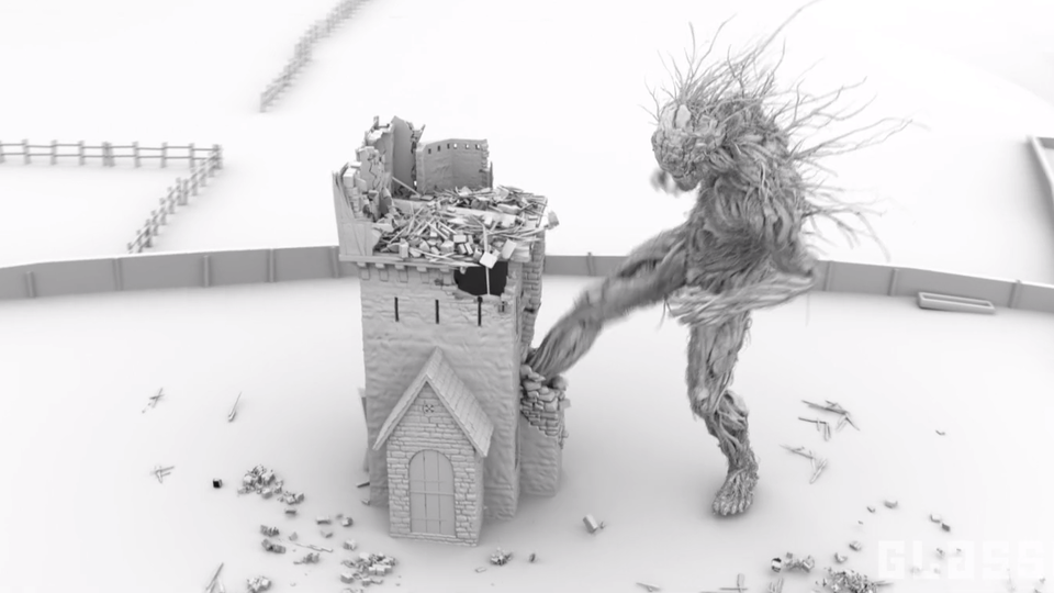 Glassworks - Making of A Monster Calls (Animation Sequence)