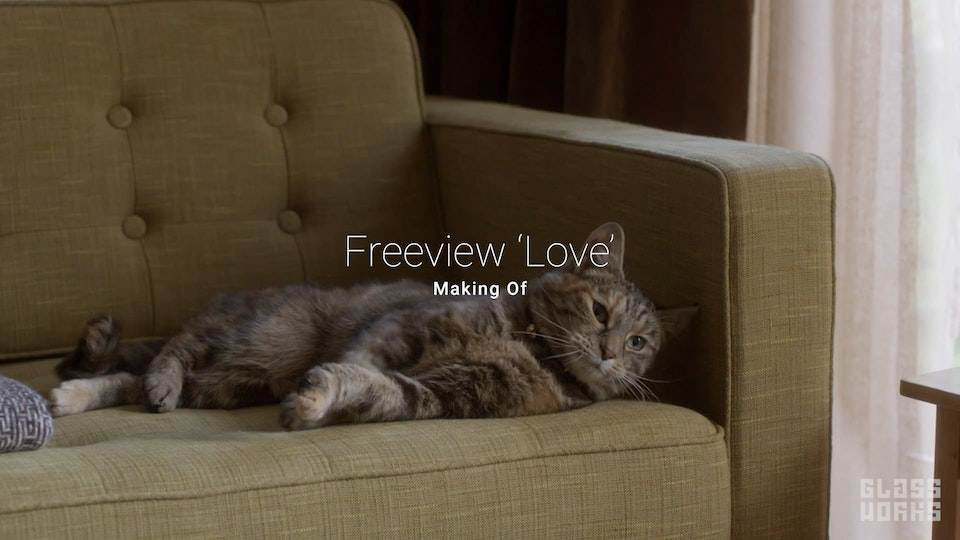 Freeview - 'Love' - Making Of - Freeview - 'Love' Making of