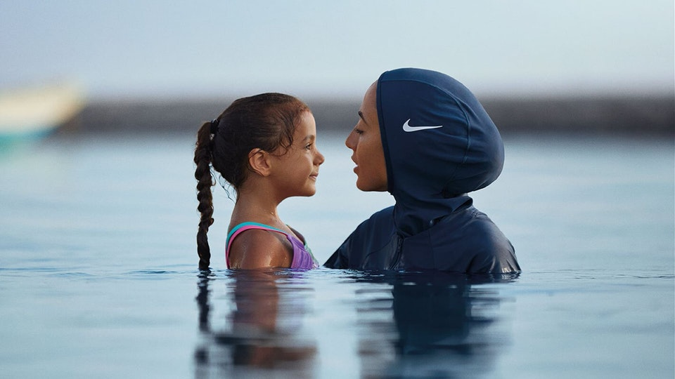 Glassworks - Nike - You Can't Stop Us: Victory Swim