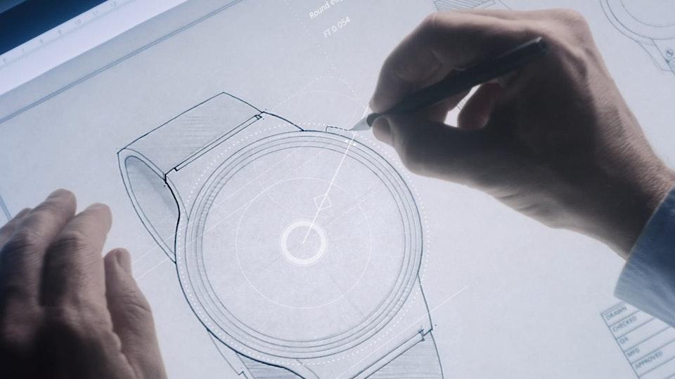 Glassworks - Huawei - 'Watch'