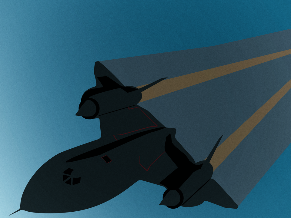 Magnificent Machines - Lockheed SR-71 Blackbird