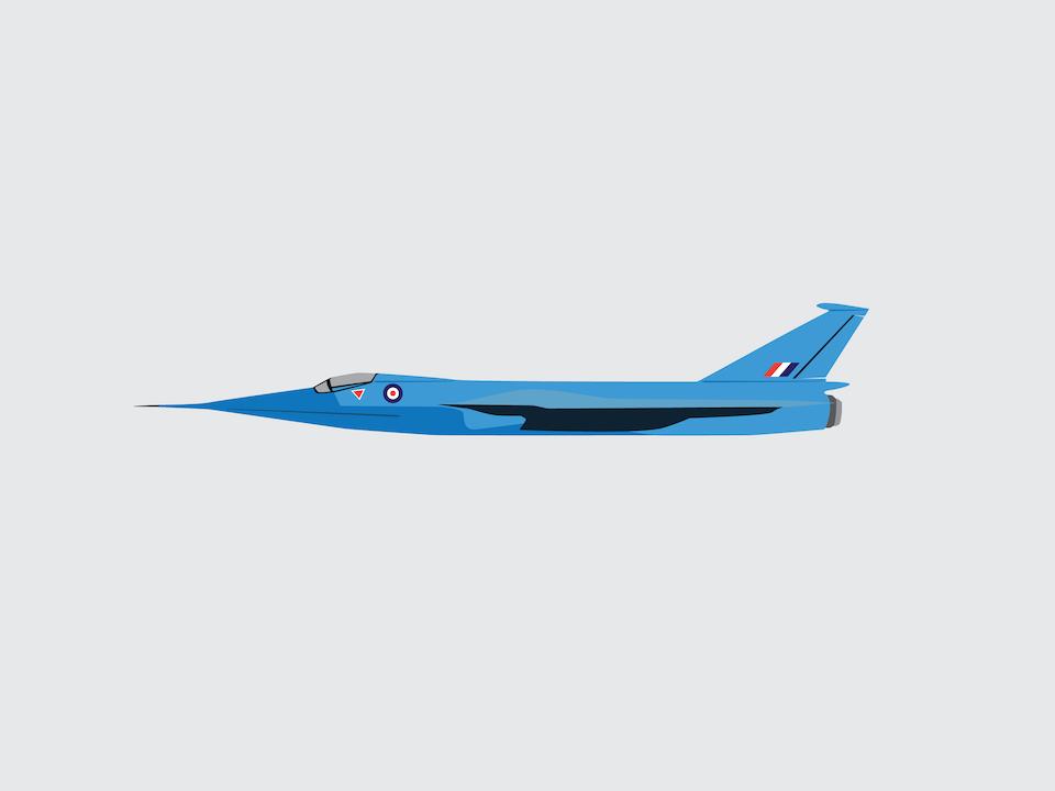 Vehicles - Fairey Delta 2