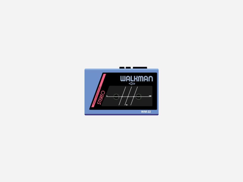 Gizmo - Sony WM-22 Walkman