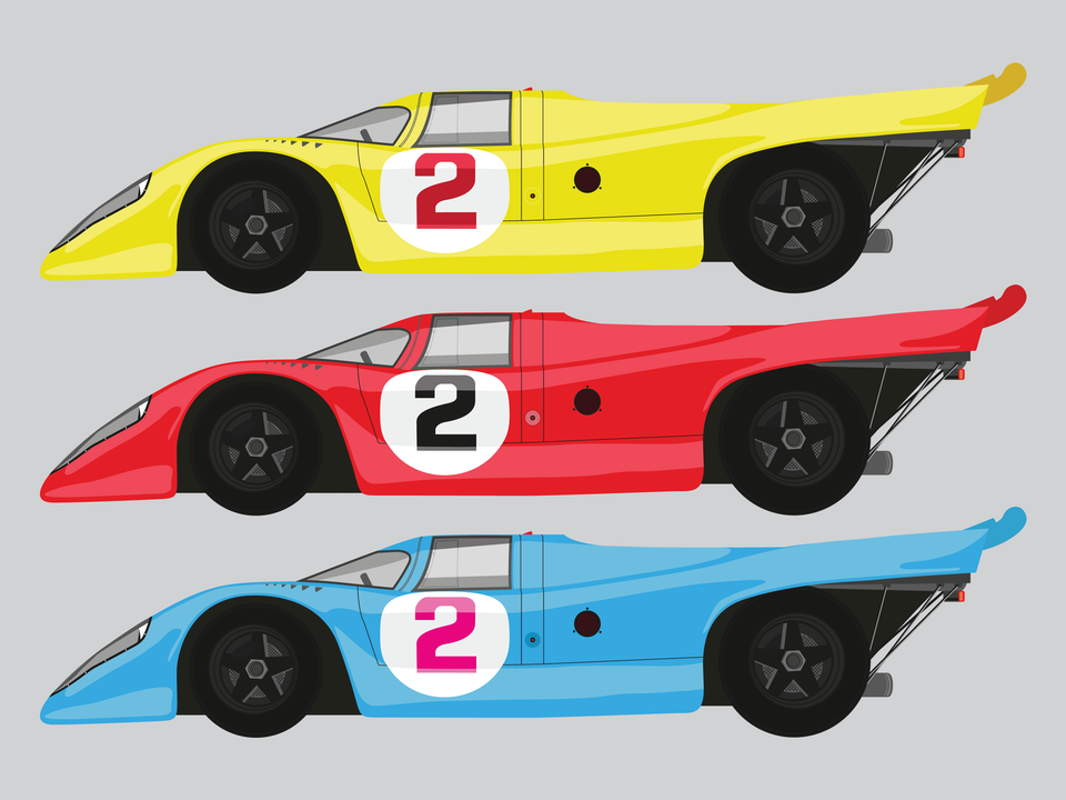 Vehicles - Porsche 917