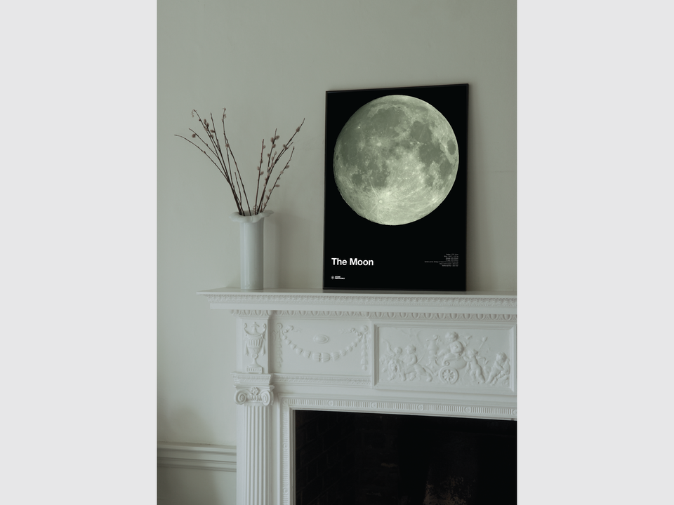 Atomic Printworks - Glow-iin-the-Dark Moon print