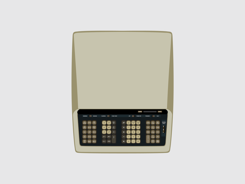Gizmo - Hewlett-Packard HP-9100A computer-calculator