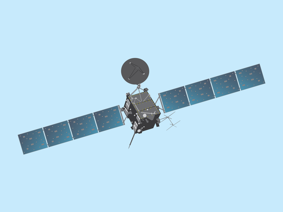 Adventures in Space - Rosetta probe