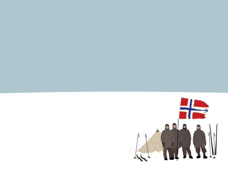 Explorers - Roald Amundsen's 1911 South Pole expedition