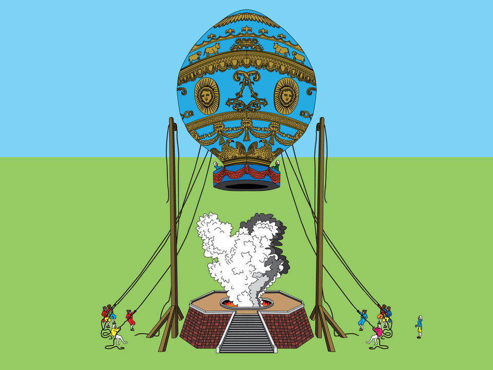 Aircraft - Montgolfier Brothers balloon