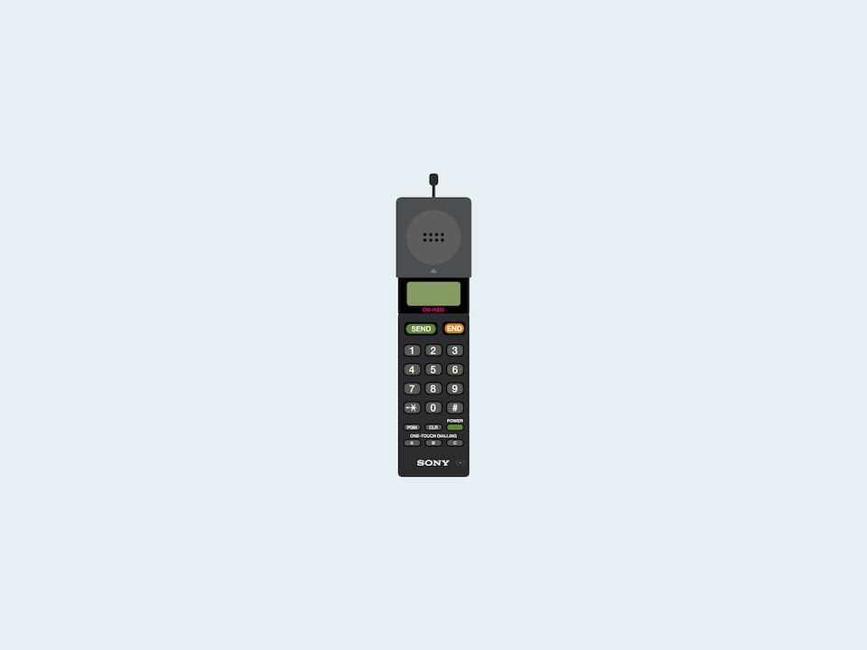 Cellular - Sony CM-H333