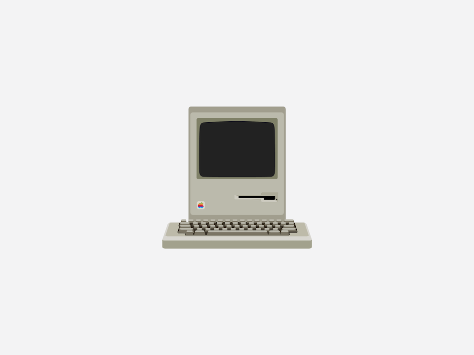 Gizmo - Apple Macintosh 128K