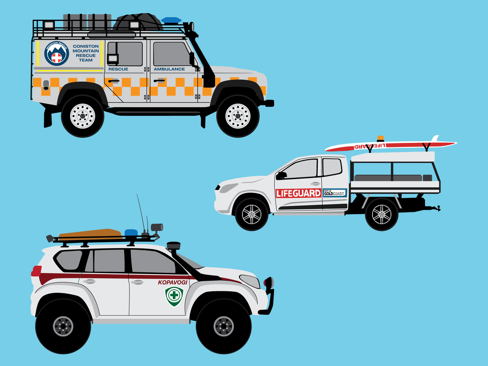 Emergency Vehicles - Rescue vehicles