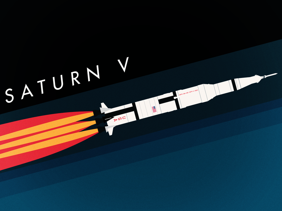 Magnificent Machines - Saturn V rocket