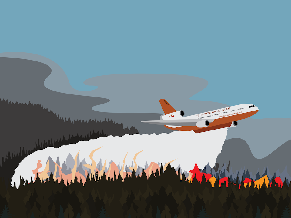 Emergency Vehicles - Firefigting aircraft