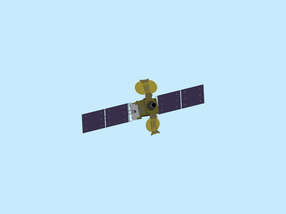 Adventures in Space - Hylas 1 satellite