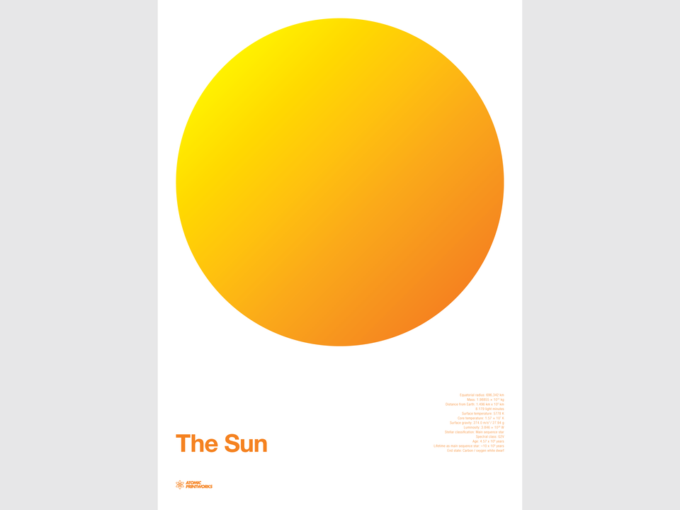 Atomic Printworks - The Sun