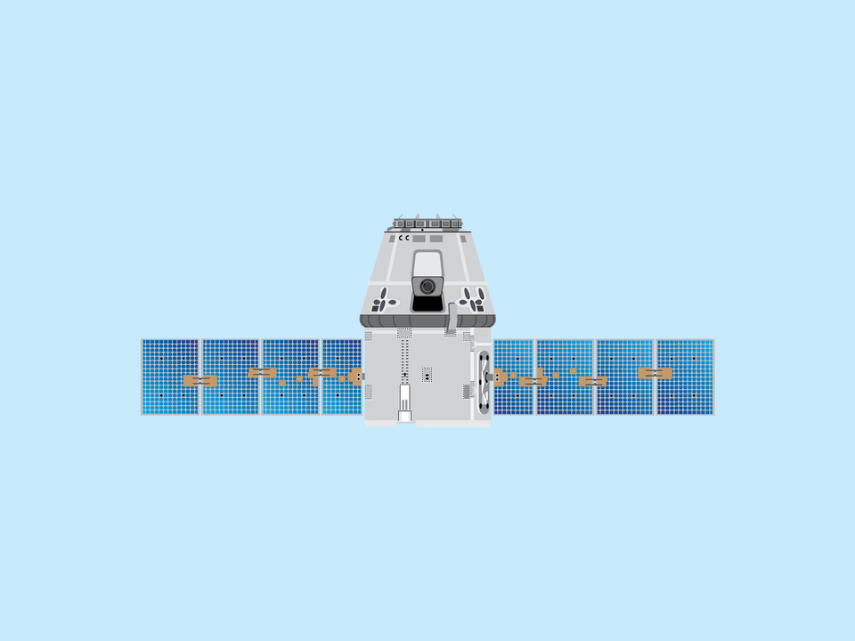 Adventures in Space - SpaceX Dragon capsule