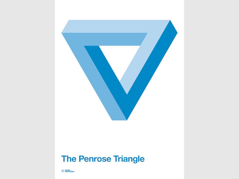 Atomic Printworks - Penrose Triangle