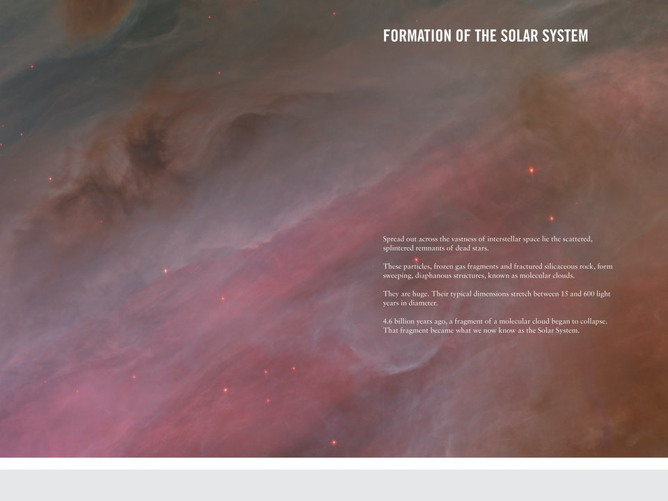 Space - Solar System formation