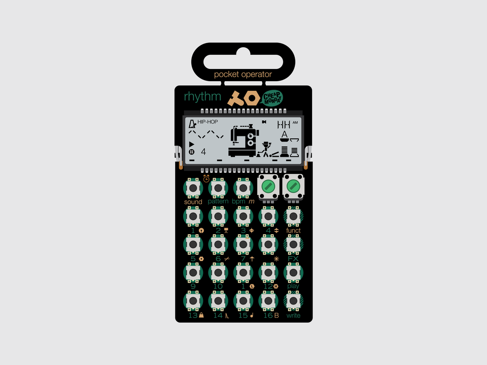 Gizmo - Teenage Engineering Pocket Operator PO-12 Rhythm