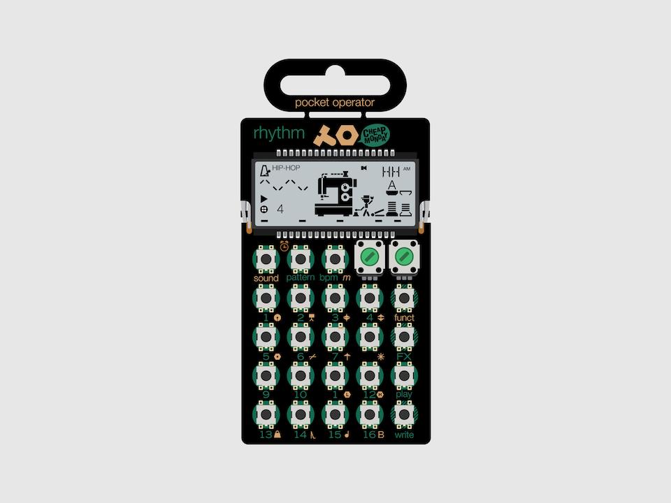 Gizmo - Teenage Engineering Pocket Operator PO-12 Rhythm