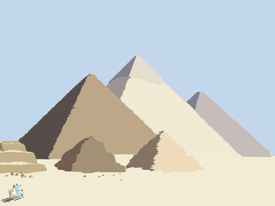 Explorers - Pyramids of Giza