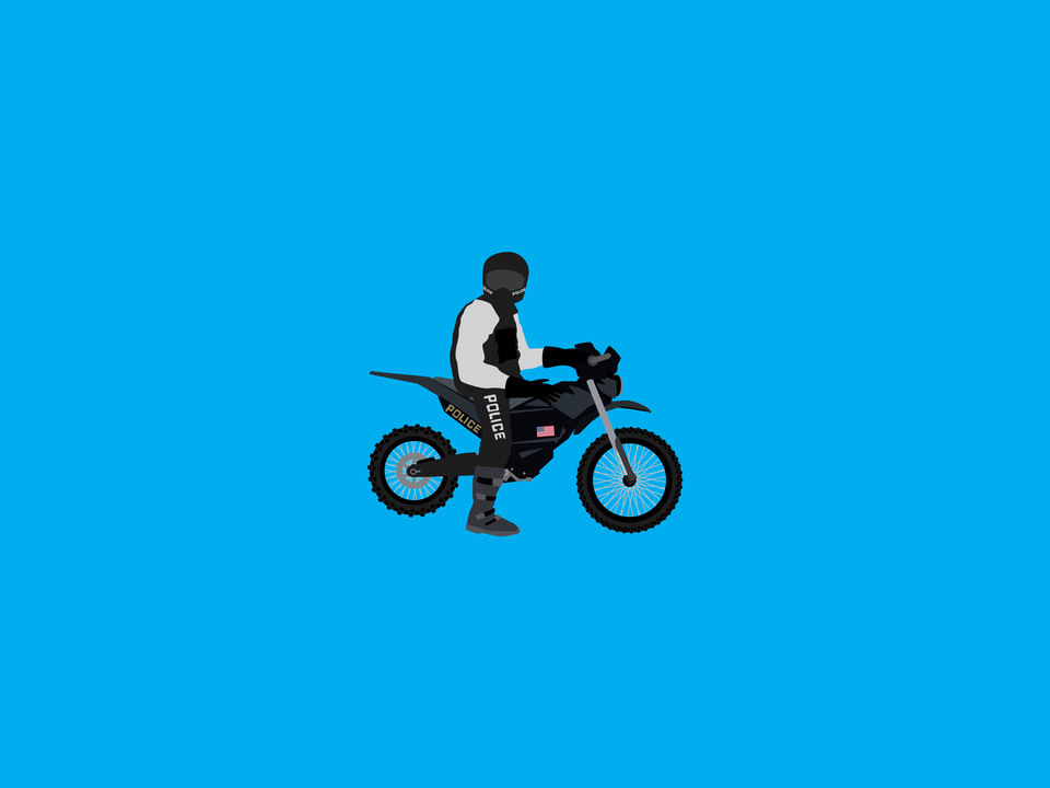 Emergency Vehicles - Police motorcycle