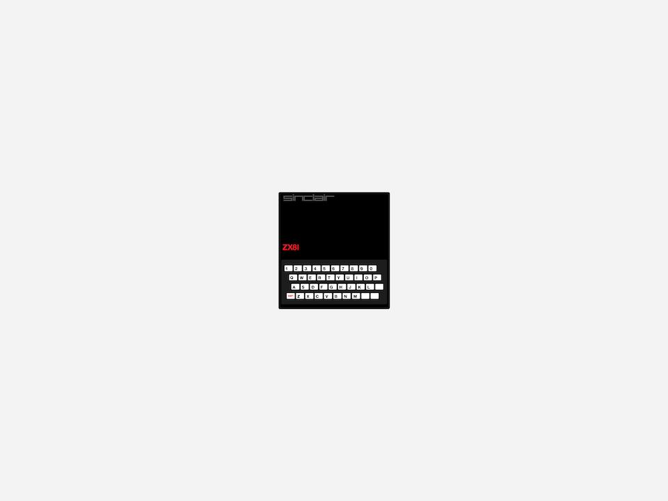 Gizmo - Sinclair ZX81