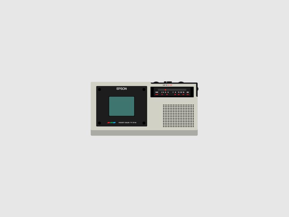 Gizmo - Epson ET-10 pocket LCD television