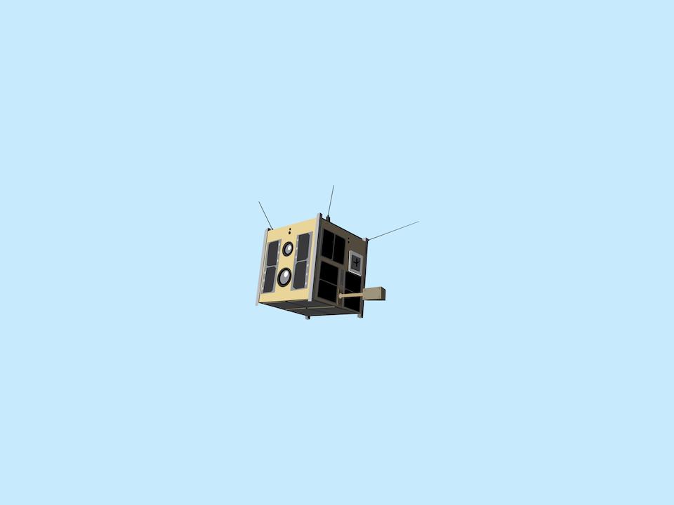 Adventures in Space - Polish Lem satellite