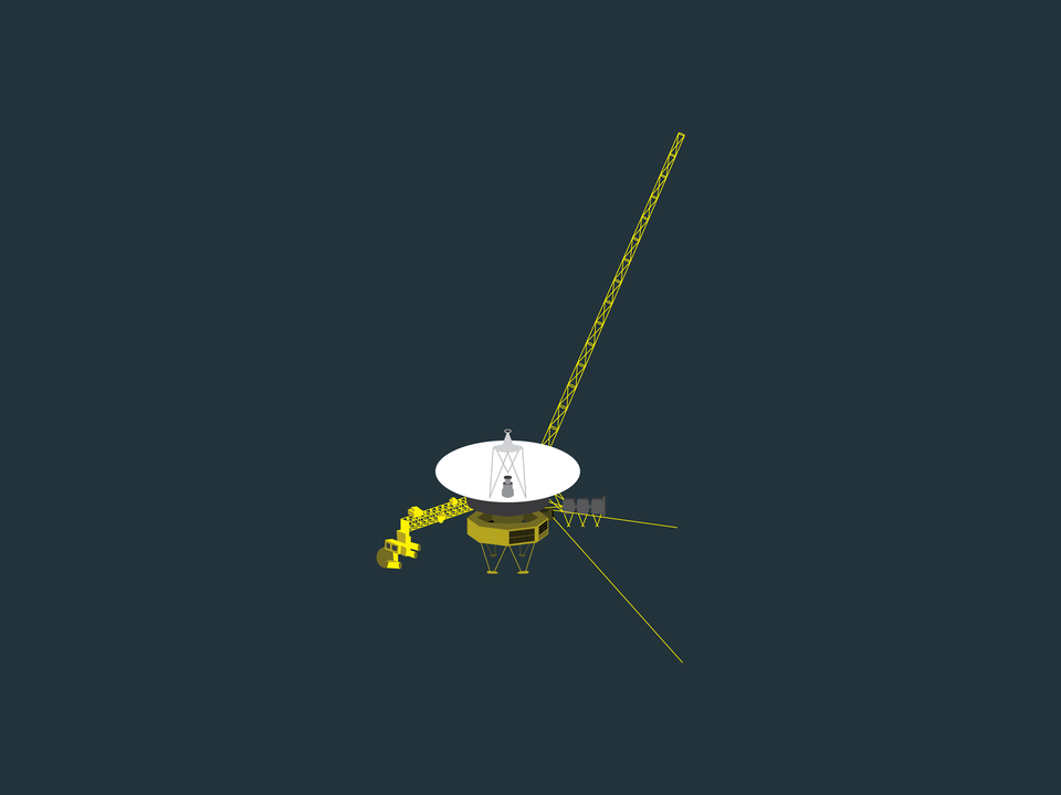 Adventures in Space - Voyager probe