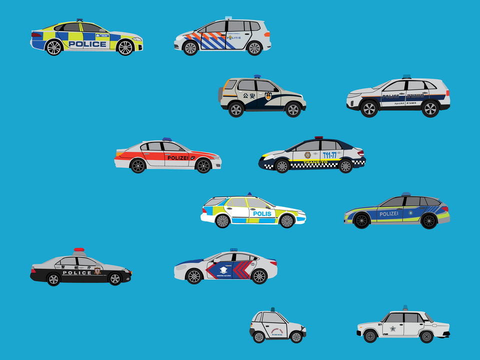 Emergency Vehicles - Police cars