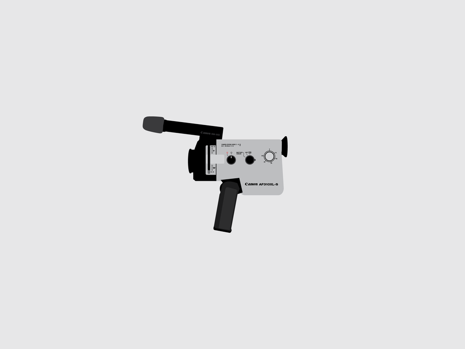 Gizmo - Canon AF-310-XL Super 8 movie camera